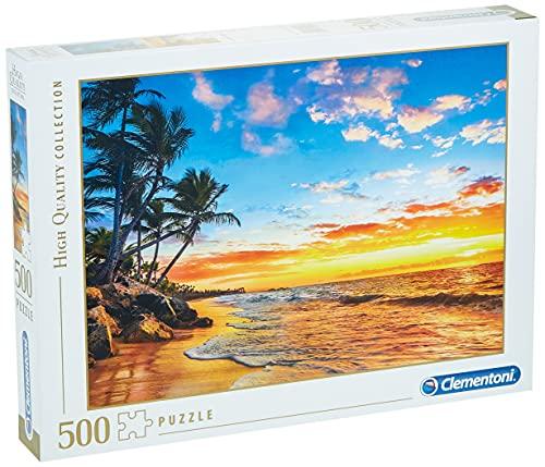 Clementoni Puzzle 500 Piezas Paradise Beach, Color (35058.2)