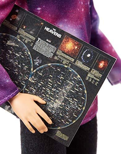 Barbie National Geographic Quiero Ser Astrofísica, muñeca con accesorios (Mattel GDM47)