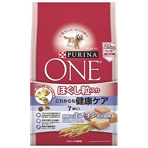 スマートマットライト ピュリナ ワン シニア犬用(7歳以上) ほぐし粒入り これからも健康ケア チキン 2.1kg(700g×3袋) [ドッグフード]
