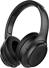 TaoTronics Active Noise Cancelling Headphones [2019 Upgrade] Bluetooth Headphones SoundSurge 60 Over Ear Headphones Sound Deep Bass, Quick Charge, 30 Hours Playtime for Travel Work TV PC Cellphone