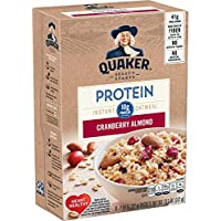 36-Count Quaker Protein Cranberry Almond Instant Oatmeal
