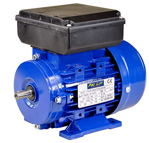Pro-Lift-Werkzeuge 1-Phasen Drehstrommotor 0,25 kW 230 V Elektromotor 2760 U/min Industriemotor electric motor B3 Drehstrom 250W 230V