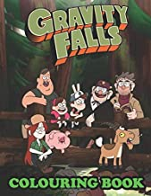 Gravity Falls Colouring Book: Super Gravity Falls book for adults and kids