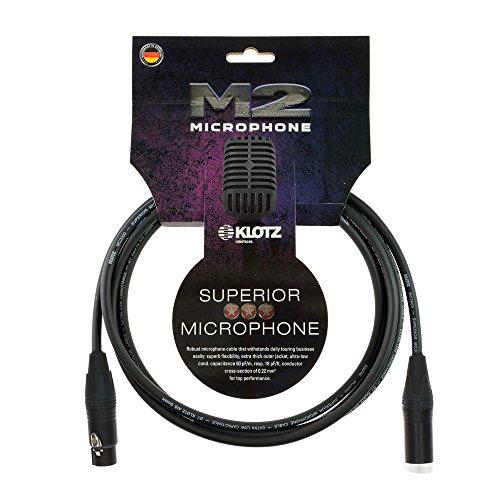 Klotz AT-CJ0100 1 Meter Stereo Chinch// Klinke Kabel RCA Kabel