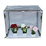 Shade net Cubierta de toldo para cobertizo de protección Vegetal,Red de Sombra de Papel de Aluminio Reflectante,Impermeable Protegido portátiles al Aire Libre Toldo a Prueba de Lluvia