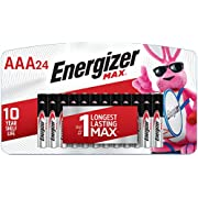 Energizer AAA Batteries (24 Count), Triple A Max Alkaline Battery