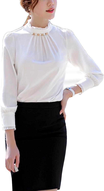 MFrannie Women Slim Crew Neck Dress with Stylish Falbala Peplum Short Sleeve