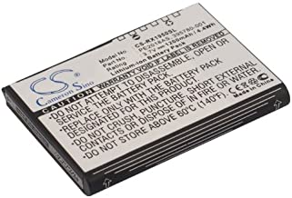 Replacement Battery for HP 35H00063-00M,395780-001,398687-001,399858-001,HSTNN-H09C-WL,PE2018AS,iPAQ RX1900,iPAQ RX1950,iPAQ RX1955