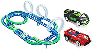 Wave Racers Mega-Match Raceway with Track & Two Wave Sensor Vehicle Cars