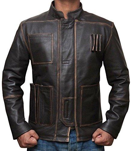 LeatherHill -  Giacca - Camicia - Uomo marrone XXL