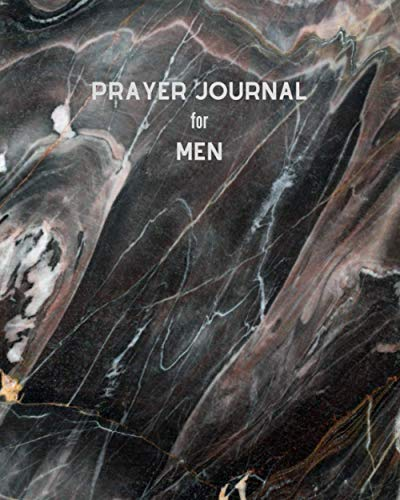 Prayer journal for men: A lovely color book to record for Christian Praise, Gratitude and Give thank to God Daily| 8x10 inch Perfect size for travel and right on Bed size table|