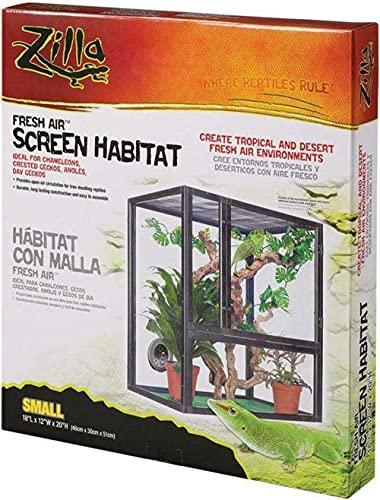 Hábitat de malla Fresh Air para reptiles de Zilla