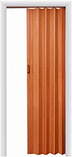 LTL Home Products OK4880PC Oakmont Interior Accordion Folding Door, Pecan
