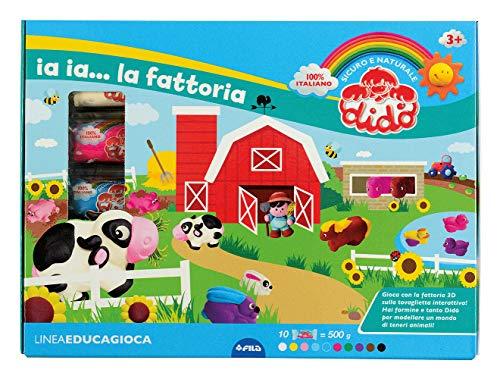 Didò- Fattoria Pasta Modellabile, Colore Assortiti, 350200
