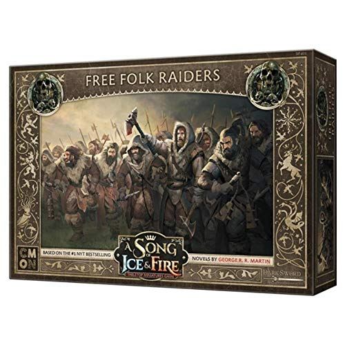 CoolMiniOrNot CMNSIF401 A Song of Ice and Fire - Gioco in miniatura: Free Folk Raiders Expansion, multicolore