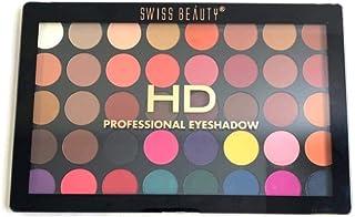Swiss Beauty HD Professional 40 Color Eyeshadow Pallete, Eye MakeUp, Multicolor-04, 48g