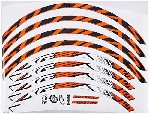 Ecoshirt DV-DQHO-SG6J Pegatinas Stickers Llanta Rim DT Swiss Syncross Xr25 MTB Downhill,...