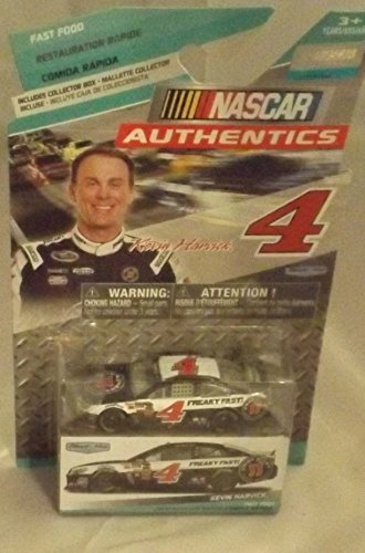 Fast Food Edition Kevin Harvick #4 Freaky Fast Jimmy Johns 2014 1/64 Scale Diecast NASCAR Authentics Includes Collector Box