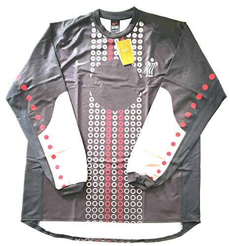 Nike DHF Dinamarca Federación de Balonmano Pro Player Issue Jersey original de los años 90 con etiquetas para hombre L
