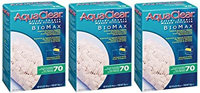 Aquaclear 70-gallon Biomax (3 Pack)