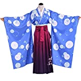 YKJ Uniforme De Anime Cosplay Señoras del Partido del Traje De Mascarada Azul Falda De La Tapa De Encargo Ciclo 15 Días,Clothing Set-L