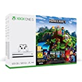 Xbox One S 500GB Konsole - Minecraft Complete Adventure [Edizione: Germania]