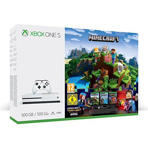 Pack Xbox One S 500 Go Minecraft + 3M LIVE