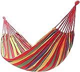 DXX-HR Hamaca Colgante Exterior Hamaca al Aire Libre, Lienzo Doble portátil con Espesado sillón colgado de Silla Anti-Rollover, jardín Deportes de Viaje casero hogar de Camping