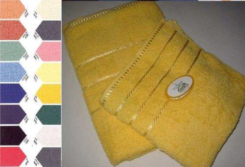 Gözze New York Handtuch, 2er Set, 100% Baumwolle, orange, 50 x 100 cm, 550-0764-4