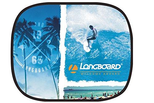 Longboard 078086 Beach 1 écran soleil latéral électrostatique