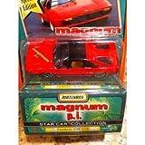 GoDeire(TM) Matchbox Star Car Collection Magnum p.i. Ferrari 308 GTB New