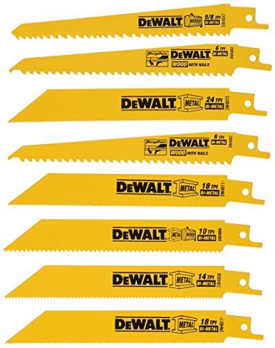DeWalt dw48588piezas para sierra de sable (bimetálicas)