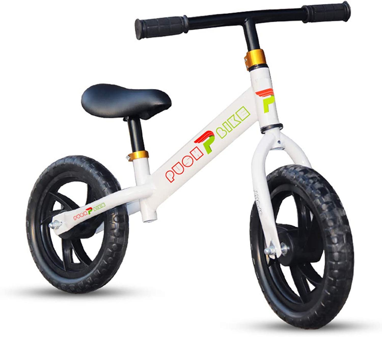 XUE Bike Kids Trike Learn Motor Skills Balance Bike 19inch Toddler Tricycle Kids 2-6 Years Old No Pedal Sport Training Bicycle Adjustable Handlebar And Seat