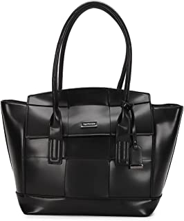 Van Heusen Spring-Summer 21 This Bag is Smooth Finished with Classy Look which Compliments Your Wardrobe (Black)