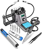 X-Tronic 9080-XR3 • 110 Watt • Heavy Duty - Fine to Medium Gauge Wire - Soldering Iron Station • LED Temp Display, Sleep Function (0 to 30 Minutes), °C to°F Function & Calibration Function (± 99°C)
