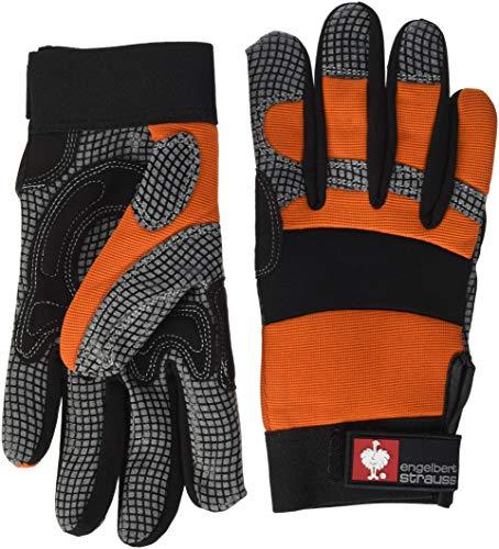 Engelbert Strauss Montage-Handschuhe Spider 9-10 (9), Orange