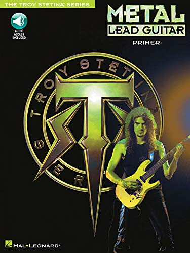Metal Lead Guitar Primer Book/Cd -Album-: Noten, CD für Gitarre (Troy Stetina)