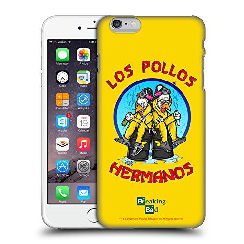 Head Case Designs Licenza Ufficiale Breaking Bad Los Pollos Hermanos 10imo Anniversario Cover Dura per Parte Posteriore Compatibile con Apple iPhone 6 Plus/iPhone 6s Plus