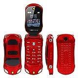 Sports Car Model F15 Mini Flip Phone Dual SIM Card MP3 Backup Phone Best For Kid