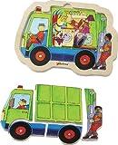 Chelona 515164 - Puzzle diseño Camión de la Basura