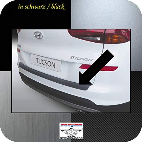 Richard Grant Mouldings Ltd. RGM Protection de seuil de chargement pour Hyundai Tucson III SUV 3ème génération à partir de Facelift 07/18 RBP409 Noir