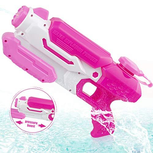 O-Kinee Pistolets à Eau Squirt Water Gun Filles Jouet d'été pour Enfants pour Enfants Pistolet à Eau à Longue...