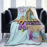 Romantic Deer Hannah Montana Blanket Men and Women Ultra-Soft Fleece Blankets Flannel Throw Blanket All Season Light Weight Warm Blanket for Couch Sofa Bed,50'X40'