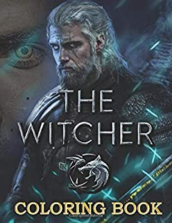 The Witcher Coloring Book: An amazing coloring book for relaxation for The Witcher fan