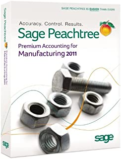 Sage Peachtree Premium Accounting For Manufacturing 2011 [OLD VERSION]