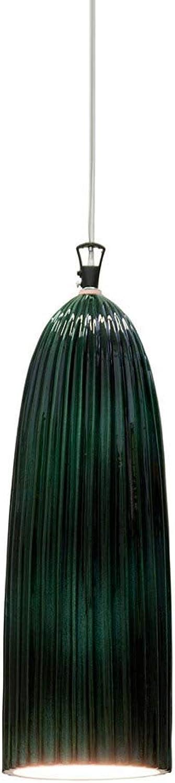 Karman sahara, lampada a sospensione,in ceramica verde lucida SE667K-V