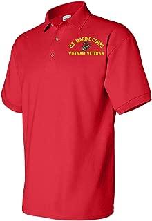 U.S. Marine Corps Eagle Globe and Anchor Vietnam Veteran Polo
