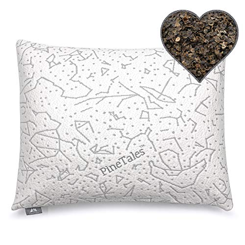 PineTales, Buckwheat Pillow with Washable Super...