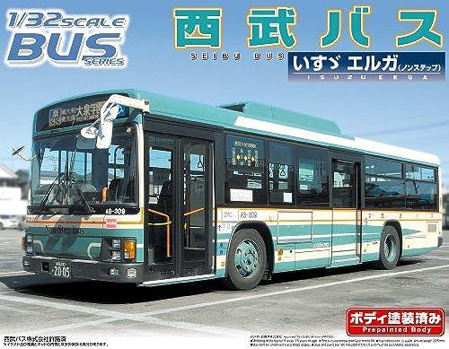 Seibu Bus (Isuzu Erga) (Model Car) Aoshima Bus No.31 1 32