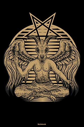 Notebook: Baphomet Journal Satan Occult Composition Book Satanic Gift